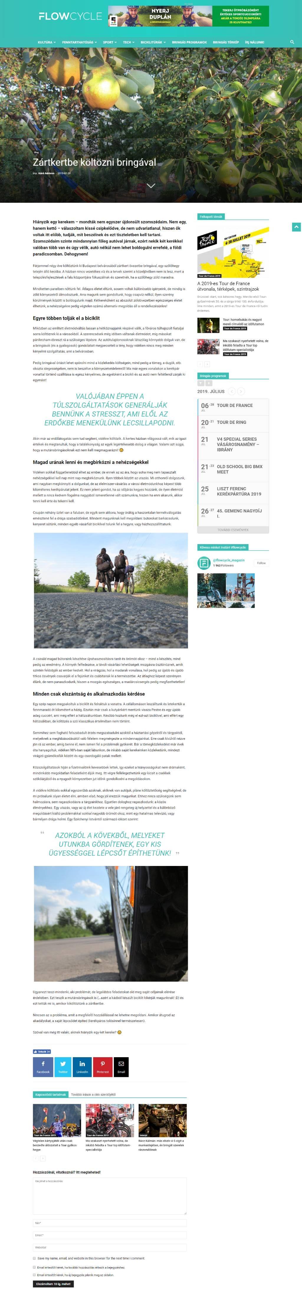 Flowcycle cikk