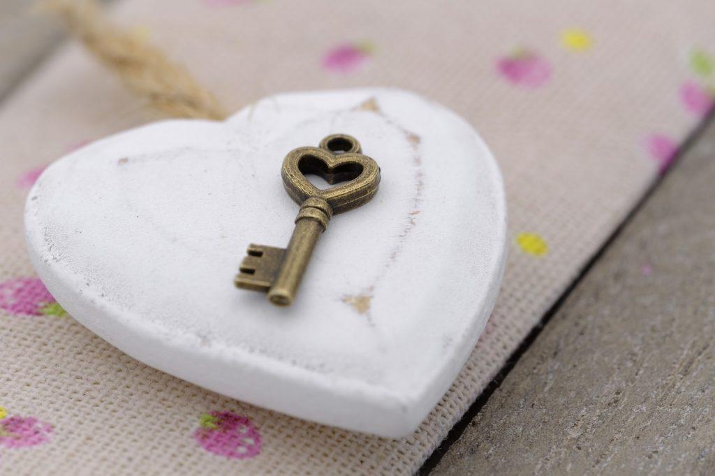 Titokzatos szívalakú kulcs
