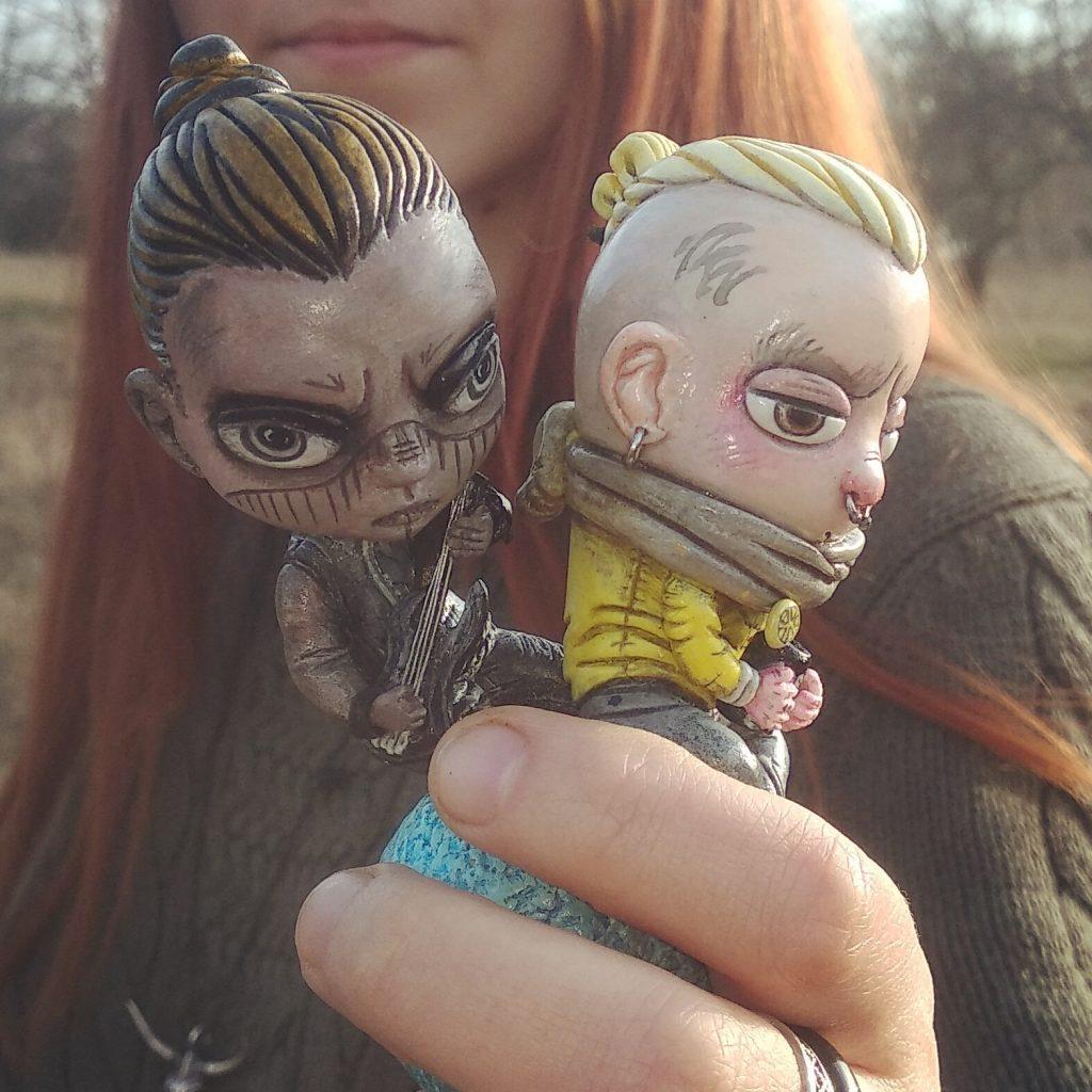 Helga Herbst szobrocskái