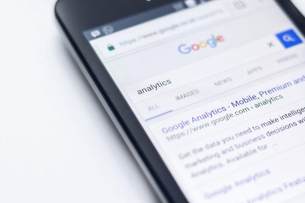 Előre kerülni Google keresőben